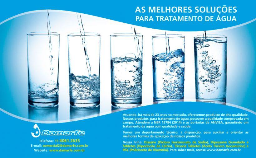 Anúncio: Tratamento de Água